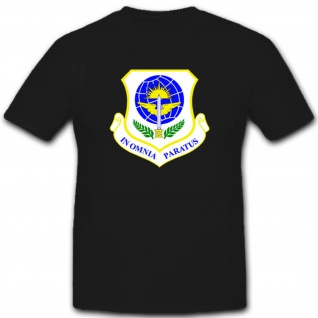 62nd Airlift Wing Miliär Usa Amerika Wappen Abzeichen Geschwader Einheit Emblem In Omnia Paratus - T Shirt #2819