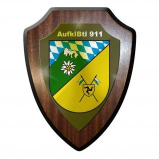 Wappenschild - AufklBtl 911 Aufklärer Bataillon Militär Deutschland #10040