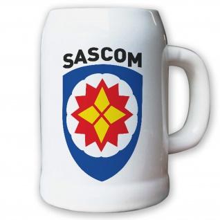 Krug / Bierkrug 0, 5l - SASCOM Special Ammunition Support Command Militär #8667