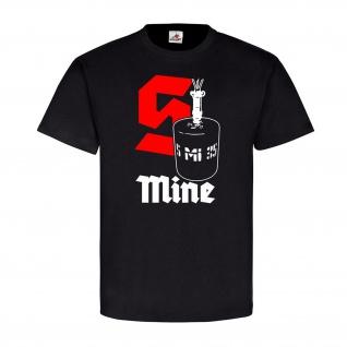 S Mine Schrapnellmine Splittermine Springmine Bouncing APM - T Shirt #18557