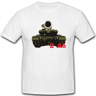 2 A6 deutscher Panzer Militär Bundeswehr Bw Streitkräfte Abwehr - T Shirt #3260