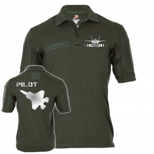 Tactical Polo F thirty -five Pilot TYP 2 Reflex Stealth Light Poloshirt #25137