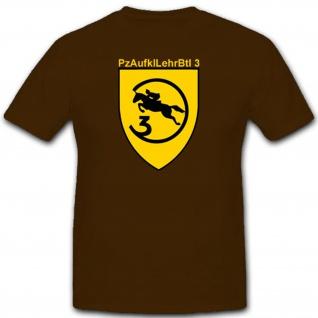PzAufklLehrBtl 3 Kompanie Wappen Militär Abzeichen Emblem T Shirt #2379