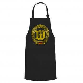 Wachbataillon WachBtl Abzeichen Emblem Kochschürze / Grillschürze #16829