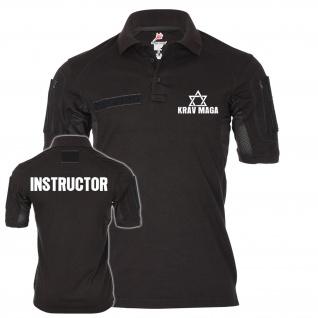 Tactical Polo INSTRUCTOR Krav Maga Trainer Ausbilder Schule Kampfsport #24115