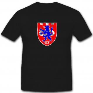 Pzbtl 83 Panzerbataillon 83 Lüneburg Bundeswehr Wappen Abzeichen - T Shirt #4020