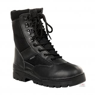 Kommando Einsatz Stiefel Tactical Springerstiefel schwarz Polizei Security#15975 - Vorschau 1