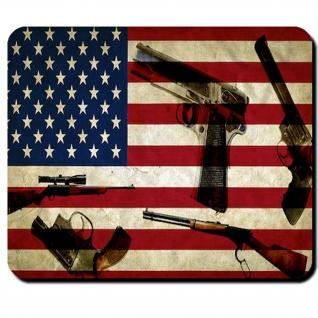 US GUN MGs Guns US USA Armee Army Zubehör PC Amerika - Mauspad #26640