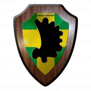 Wappenschild / Wandschild -Heeresunteroffizierschule 1 Bundeswehr #7314