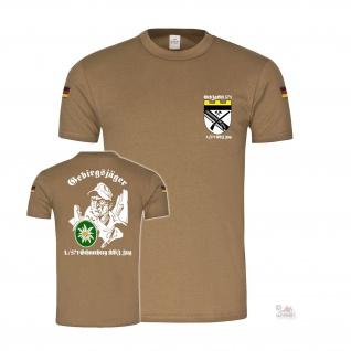Bw Tropen GebJgBtl 571 1 AVZ Zug Gebirgsjäger Jägerkaserne T-Shirt#37244