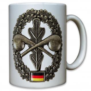 ABC Abzeichen Bundeswehr Barett Wappen Eichenlaub Bataillon - Tasse #9550
