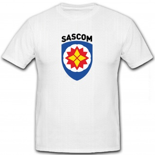 SASCOM Special Ammunition Support Command Militär US USA - T Shirt #8475