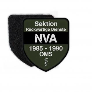 Patch Rückwertige Dienste NVA San OMS Nationale Volksarmee DDR Sanitäter #24617