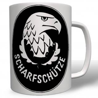 Scharfschützen Abzeichen Soldaten Wk Bundeswehr Wappen Abzeichen Tasse #16752