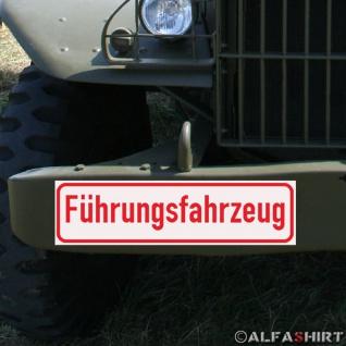 Magnetschild Kolonne Militär Fahrzeug KFZ Oldtimer Auto LKW Armee Army #A286