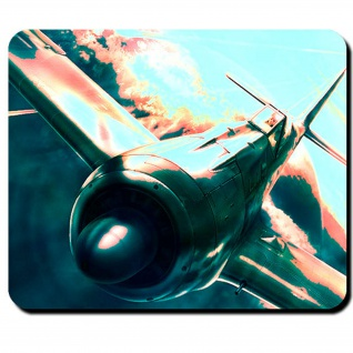 FW 190 deutsches Jagdflugzeug Flugzeug WK 2 Luftwaffe Aufklärer - Mauspad #8286