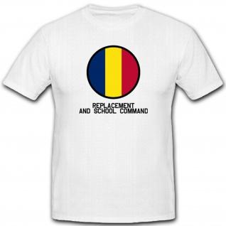 Replacement and School Command Wappen Emblem Abzeichen Militär - T Shirt #3066