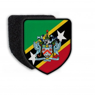 PatchFlag of the Saint Kitts and Nevi Flagge Staat Land Flagge Wappen #21375