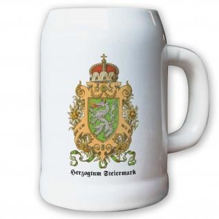 Krug / Bierkrug 0, 5l - Herzogtum Steiermark Österreich Graz Herzog Adler #9467