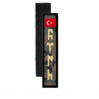 Türkisches Militär Tarn Patch Namenspatch abzeichen wappen #24284