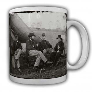 USA Tasse Bürgerkrieg Vorderlader Kaffeebecher Amerika Western Revolfer CSA#22580