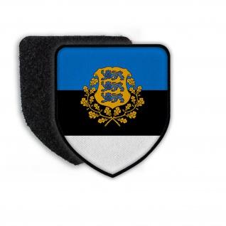 Patch Estland Tallinn Eichenlaub Löwe Ratas Aufnäher Wappen Aufnäher #21932