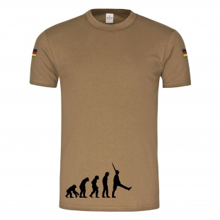 Evolution Soldat Fun Humor Spaß AFFE Mensch Militär original Tropenshirt #14806