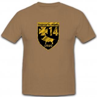 Toujours en vedette Panzerbataillon 14 Panzer Deutschland - T Shirt #9138