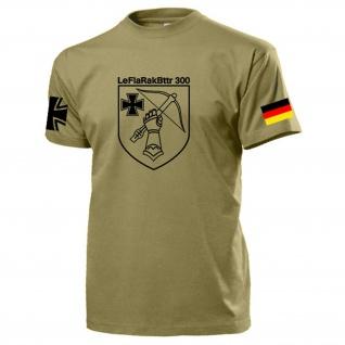 LeFlaRakBttr 300 Reservisten Bundeswehr Leichte Flugabwehr - T Shirt #15535