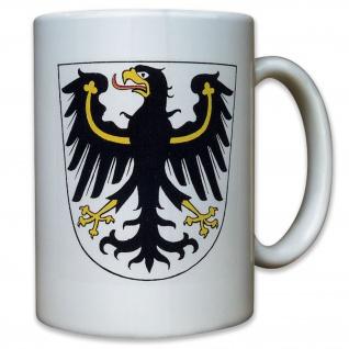 Provinz Ostpreußen Preußen Wappen Deutschland - Tasse Kaffee #9513
