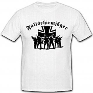 Fallschirmjäger Elite Bundeswehr Deutschland Bundeswehrkreuz T Shirt #2625