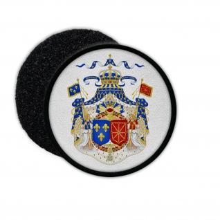Patch Ancien Régime 1589-1789 Frankreich Wappen Bourbonen Abzeichen #32900