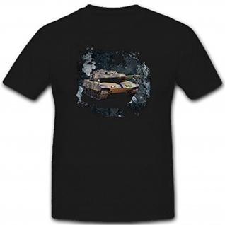 Copytec Leopard Panzer Grunge Bundeswehr Deutschland- T Shirt #8157