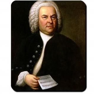 Johann Bach Sebastian Komponist Musiker Person Künstler Gemälde Mauspad #16247