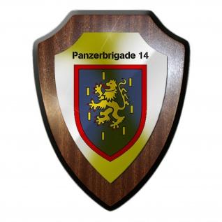 Panzerbrigade 14 PzBrig Heer Bw Einheit Kompanie Militär Wappenschild #19894