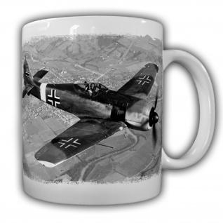 FW-190 Flugzeug Luftwaffe Militär Jagdflugzeug Jäger Tasse 20961
