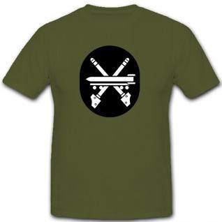 Raketen und Waffentechnischer Dienst Abzeichen NVA DDR Militär - T Shirt #7932