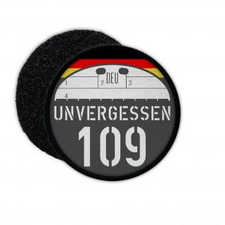 Patch Unvergessen 109 Gedenken Bundeswehr gefallene Kameraden Marsch #25360