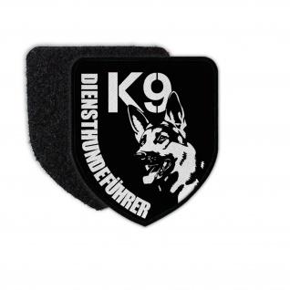 Patch K9 Diensthundeführer Trainer Hund Schäferhund Diensttraining Wappen#31976