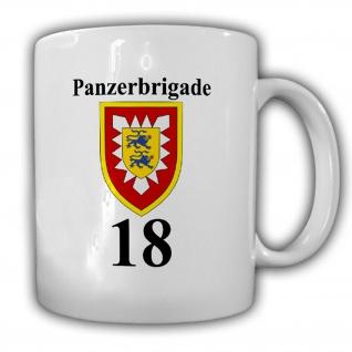 Panzerbrigade 18 Holstein PzBrig 18 BW Heer Panzer Wappen Abzeichen Tasse #15663
