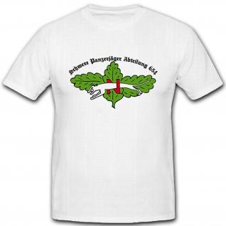 Spzjgabt 654 Militär Heer Schwere Panzerjäger Abteilung 654 - T Shirt #5394