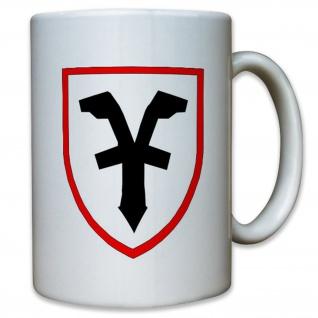 Fernmeldesektor B FmSkt B Bundeswehr BW Abzeichen Wappen - Tasse #13070