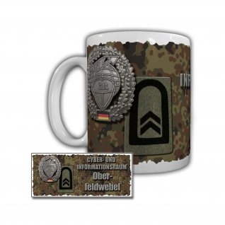 Tasse Cyber- und Informationsraum Oberfeldwebel Bundeswehr #29402