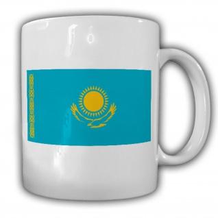 Republik Kasachstan Fahne Flagge Kaffee Tasse #13537