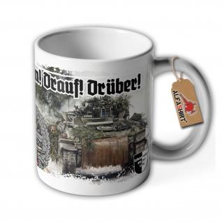 Lukas Wirp Tasse Panzergrenadier Bundeswehr Marder PzGrenBtl Dran Drauf #36700