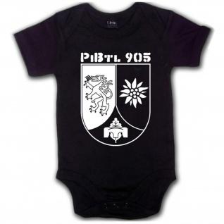 Pibtl 905 Pionierbataillon 905 Bundeswehr Wappen Embelem Pioniertruppe Babystrampler #5809