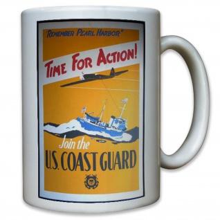 US United States Coast Guard Marine Soldaten Küstenwache Amerika - Tasse #11598