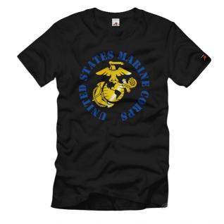 USMC US Marine Corps US Army Amerika America Navy Wappen Logo- T Shirt #694