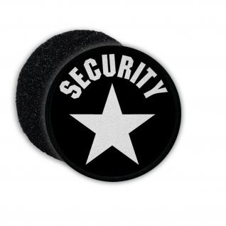 Patch Klett Flausch Security Sicherheitsdienst Stern Objektschutz Guard #22503
