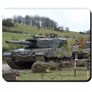 Leopard 2A4 Bundeswehr Panzer Leo 2 Kampfpanzer Deutschland - Mauspad #7938